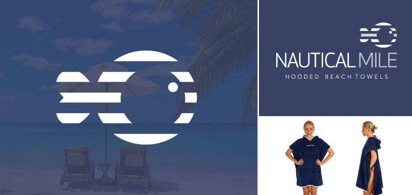 Nautical mile logo design