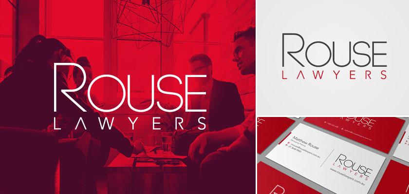Rouse Lawyers logo design