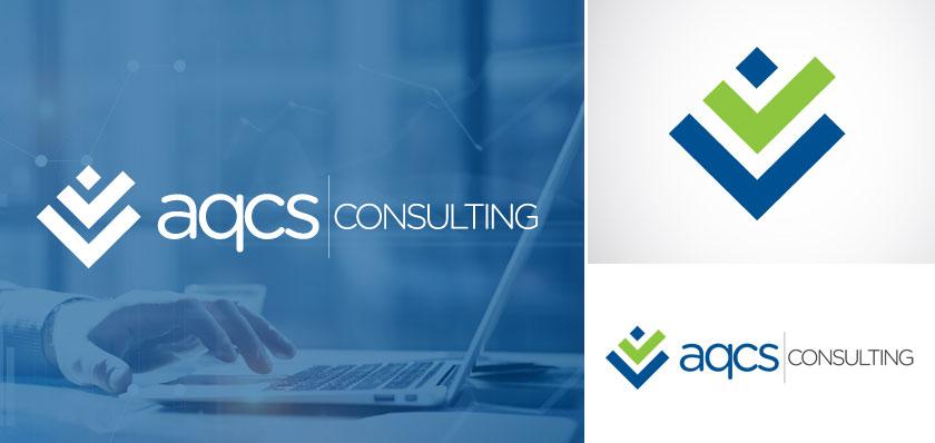 aqcs consulting logo design
