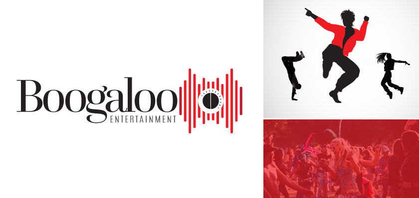 boogaloo entertainment logo design