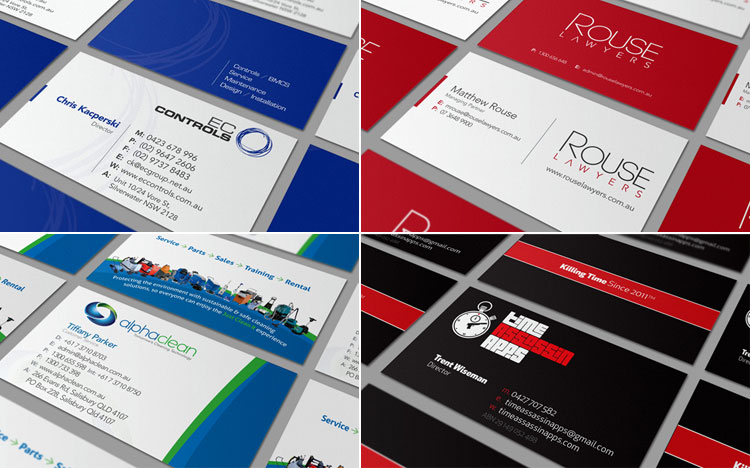 business card design samples