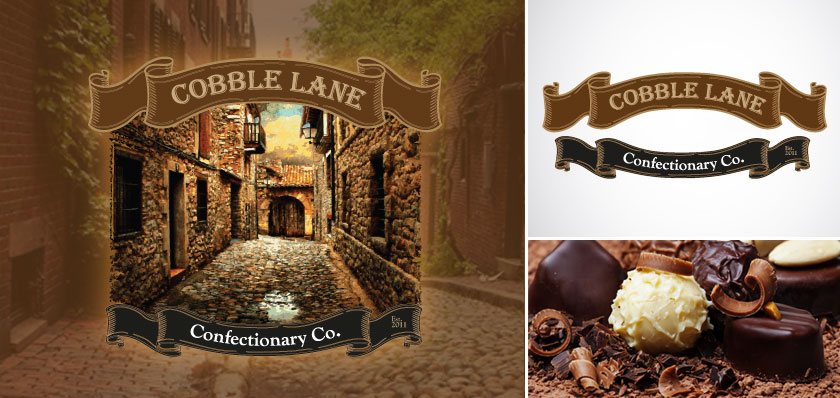 cobble lane logo design
