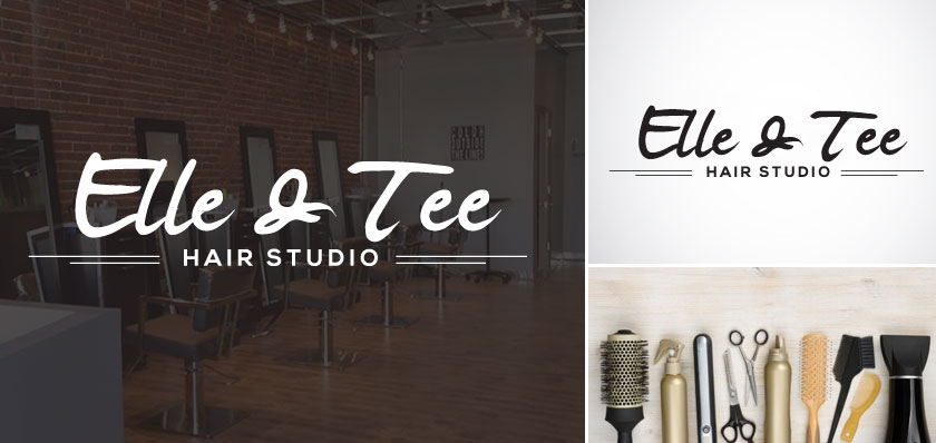 elle and tee logo design