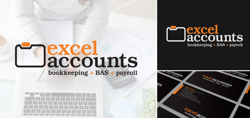 excel accounts logo design
