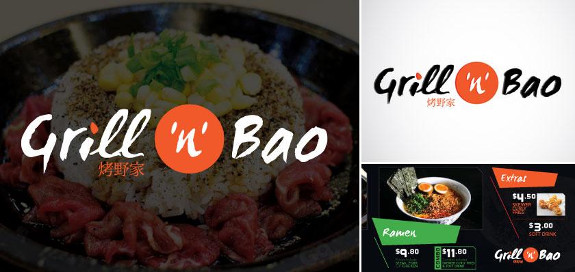 grillnbao logo design