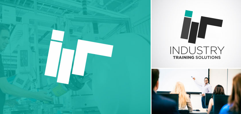 industry training logo design