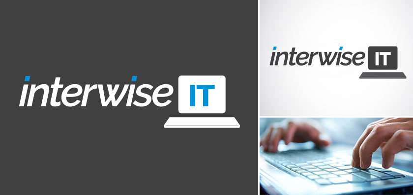interwise it logo design