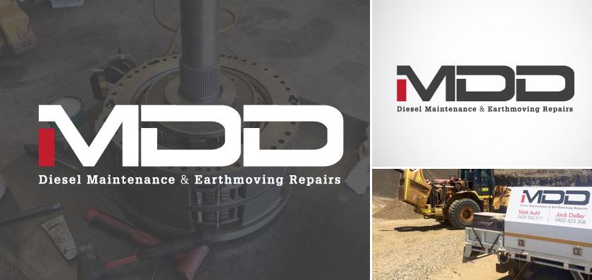 mdd logo design