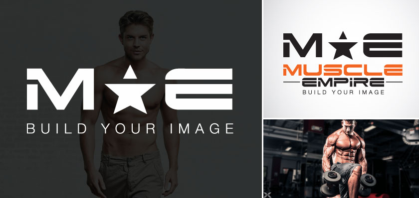muscle empire logo design