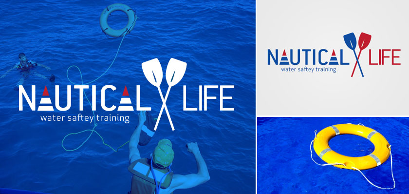 nautical life logo design