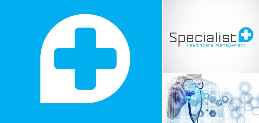 specialist healthcare logo design