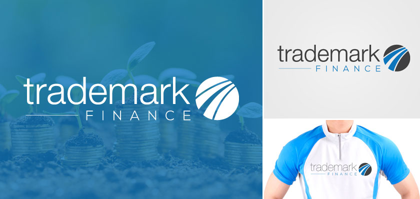 trademark finance logo design