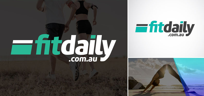 fit daily Australia logo design